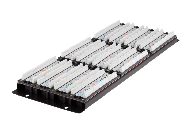 96 Port Cat6 Enhanced 4RU Rack Mount Patch Panel