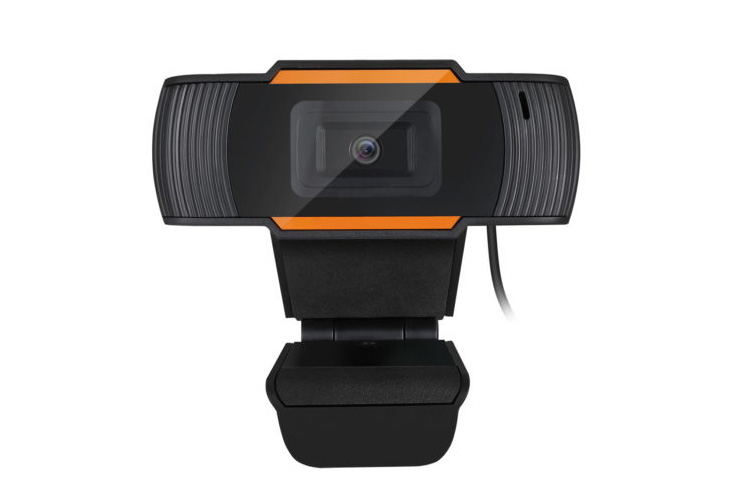 Webcam 1080p w/Autofocus, USB2.0, Built-In Mic