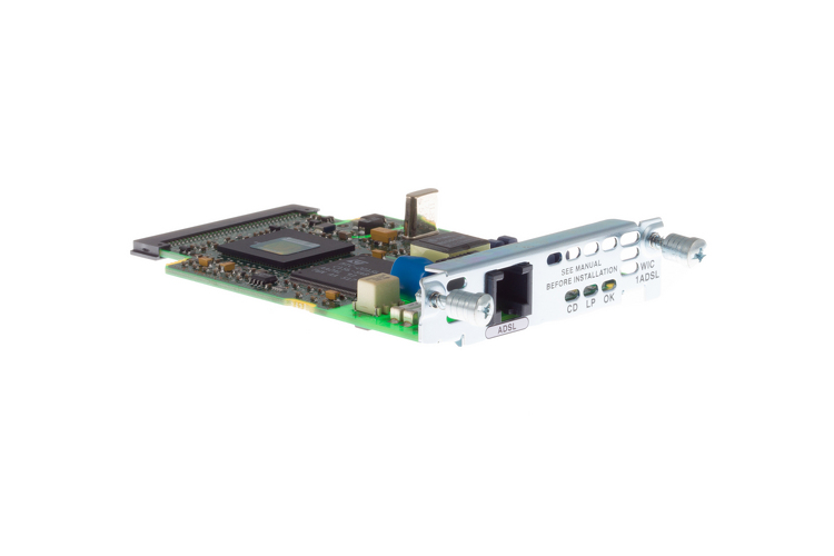 Cisco 1 Port ADSL WAN Interface Card, WIC-1ADSL, NEW