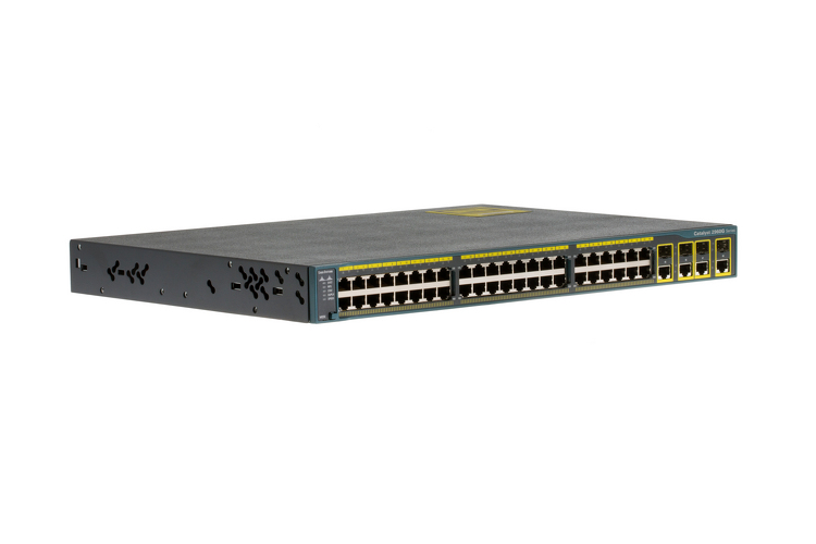 Cisco 2960 Series 48 Port Gigabit Switch, WS-C2960G-48TC-L