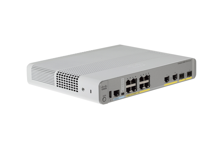 Cisco Catalyst 2960 CX Series Switch, WS-C2960CX-8PC-L