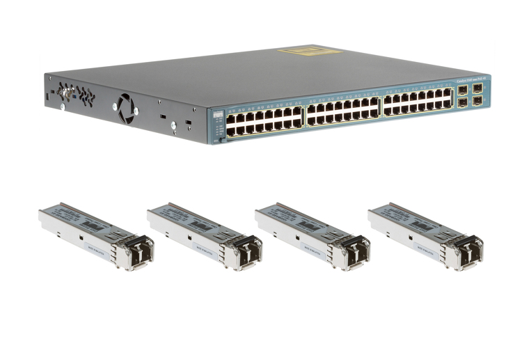 Cisco 3560 Series 48 Port PoE Deployment Pack, WS-C3560-48PS-S