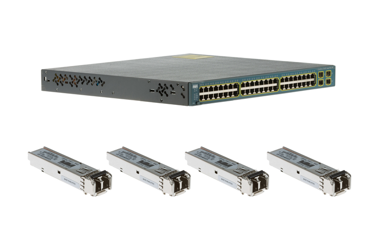 Cisco 3560G Series 48 Port PoE Deployment Pack WS-C3560G-48PS-S
