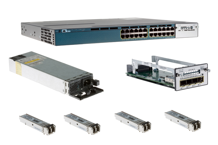 Cisco 3560X Series 24 Port PoE+ Deployment Pack, WS-C3560X-24P-S