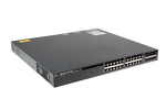 Cisco 3650 Series 24 Port PoE+ Switch, LAN Base, WS-C3650-24PD-L