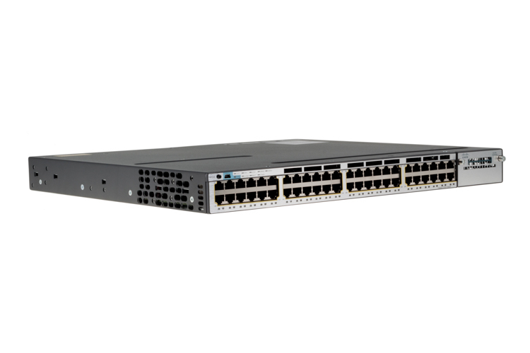 Cisco 3750X Series 48 Port PoE Switch, WS-C3750X-48PF-L