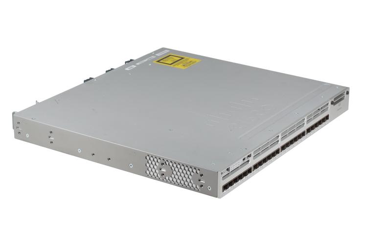 Cisco 3850 Series 24 Port SFP Switch, IP Base, WS-C3850-24S-S