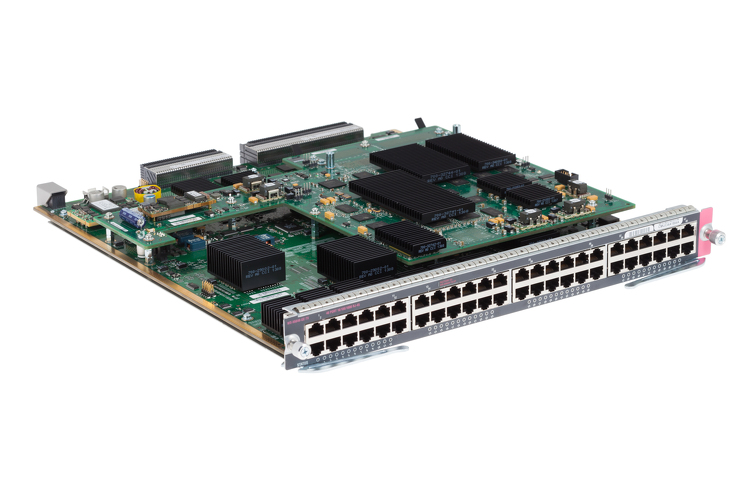 Cisco 6800 48-Port Gigabit Copper Ethernet Module,WS-X6848-TX-2T
