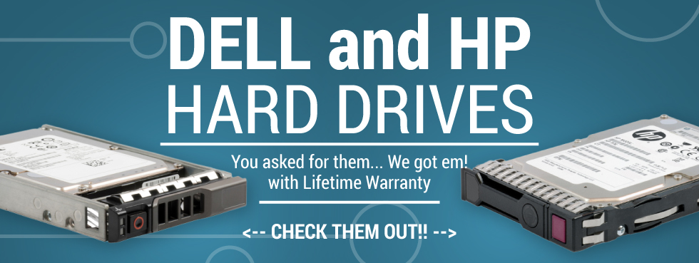 Dell and HP Hard Drives